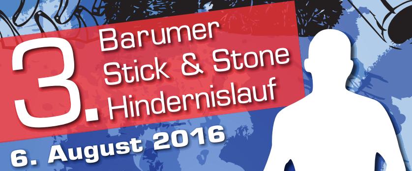 3. Barumer Stick & Stone Hindernislauf